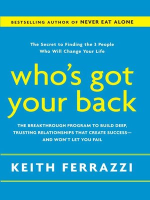 cover image of Who's Got Your Back