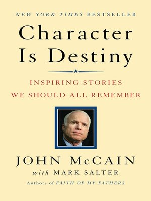 cover image of Character Is Destiny