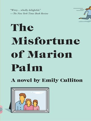 cover image of The Misfortune of Marion Palm
