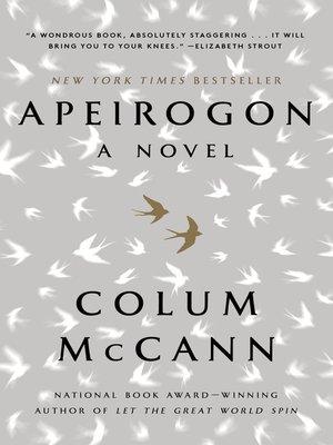 Apeirogon Book Cover