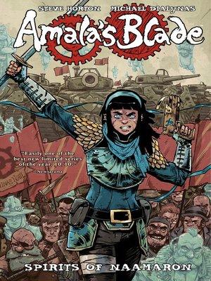 cover image of Amala's Blade: Spirit of Naamaron