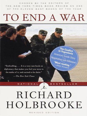 cover image of To End a War