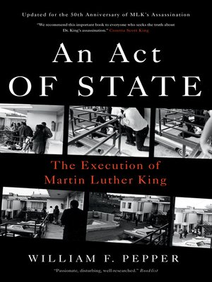 cover image of An Act of State
