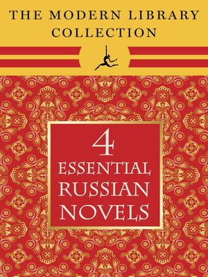 cover image of The Modern Library Collection Essential Russian Novels 4-Book Bundle