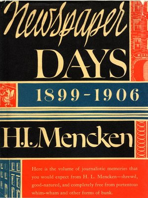 cover image of Newspaper Days