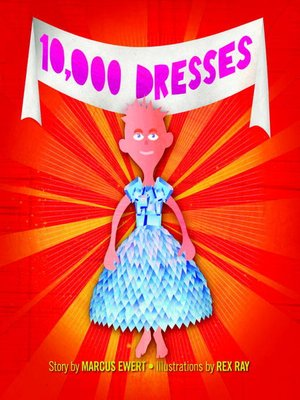 cover image of 10,000 Dresses