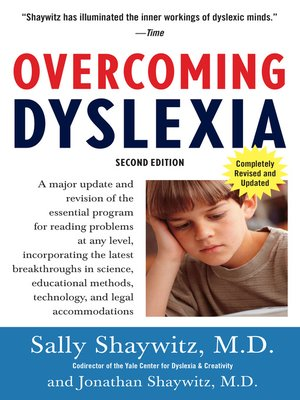 cover image of Overcoming Dyslexia