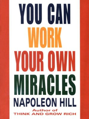 cover image of You Can Work Your Own Miracles