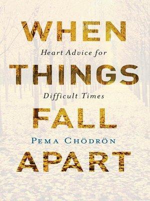 when things fall apart pema chodron epub