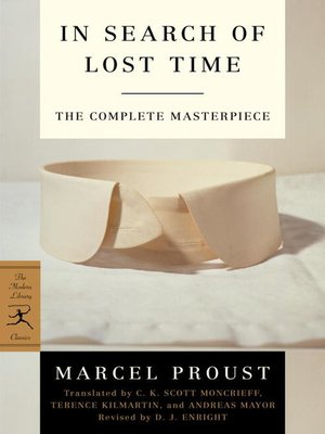 cover image of The Modern Library In Search of Lost Time, Complete and Unabridged