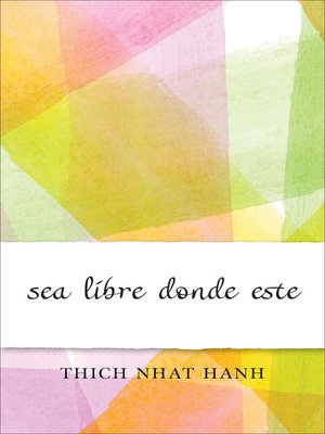 cover image of Sea Libre Donde Este
