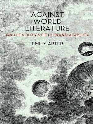 cover image of Against World Literature