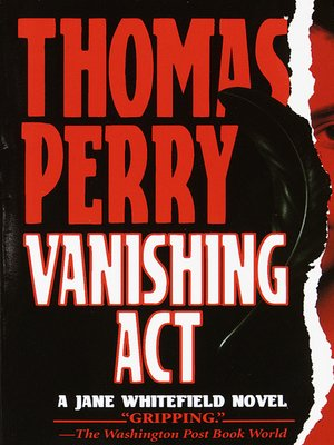 cover image of Vanishing Act