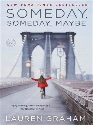 cover image of Someday, Someday, Maybe