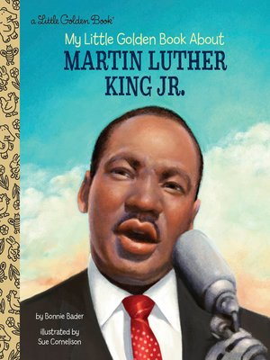 cover image of My Little Golden Book About Martin Luther King Jr.