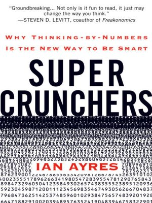 cover image of Super Crunchers