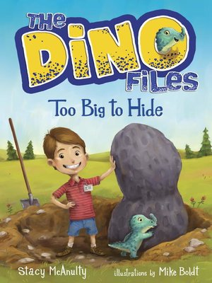 cover image of The Dino Files #2