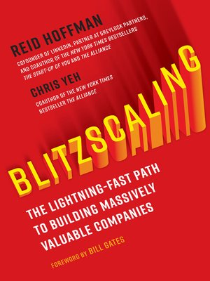cover image of Blitzscaling