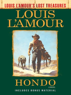 cover image of Hondo (Louis L'Amour's Lost Treasures)