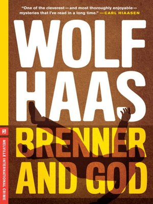 cover image of Brenner and God