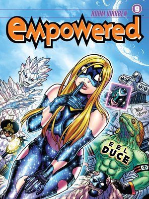 cover image of Empowered (2007), Volume 9