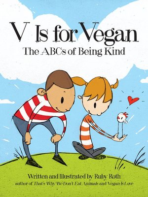 cover image of V Is for Vegan