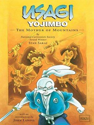 cover image of Usagi Yojimbo (1987), Volume 21