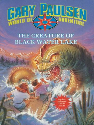 cover image of The Creature of Black Water Lake