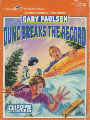 cover image of Dunc Breaks the Record