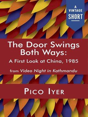 cover image of The Door Swings Both Ways