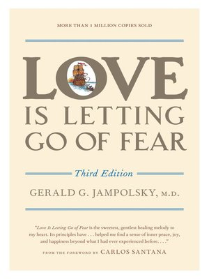 cover image of Love Is Letting Go of Fear