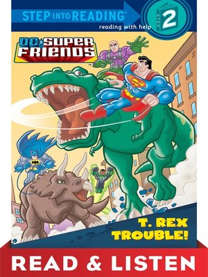 cover image of T. Rex Trouble!