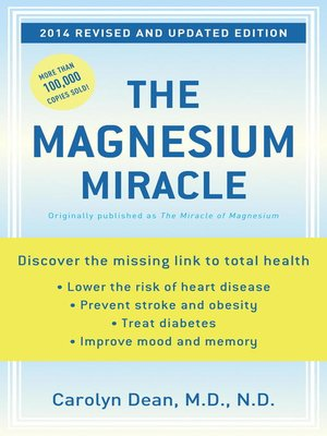cover image of The Magnesium Miracle