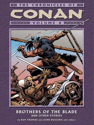 cover image of Chronicles of Conan, Volume 8