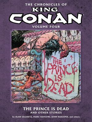 cover image of Chronicles of King Conan, Volume 4