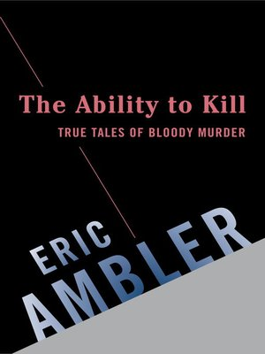 cover image of The Ability to Kill