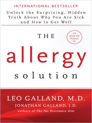 cover image of The Allergy Solution