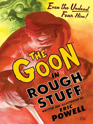 cover image of The Goon: Rough Stuff