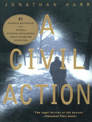 cover image of A Civil Action