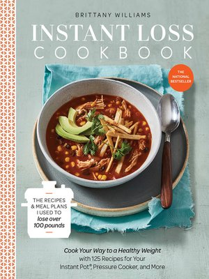 cover image of Instant Loss Cookbook