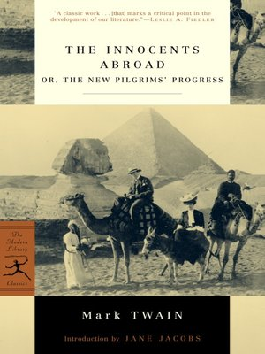 cover image of The Innocents Abroad or, the New Pilgrims' Progress