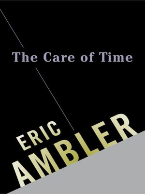 cover image of The Care of Time