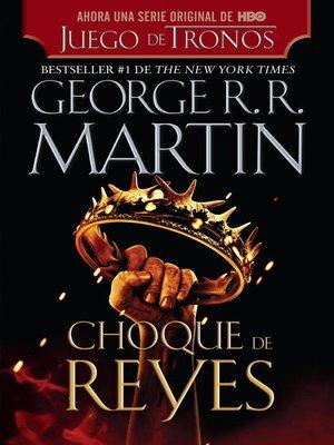 cover image of Choque de reyes