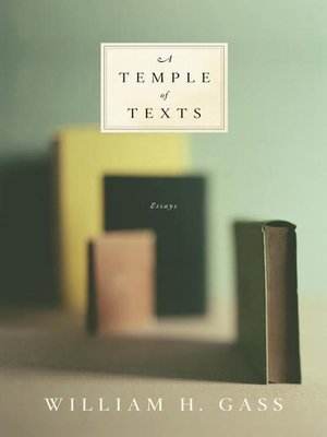 cover image of A Temple of Texts