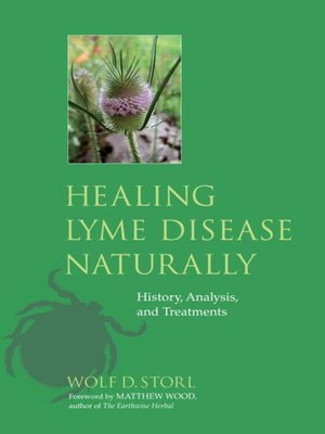 cover image of Healing Lyme Disease Naturally