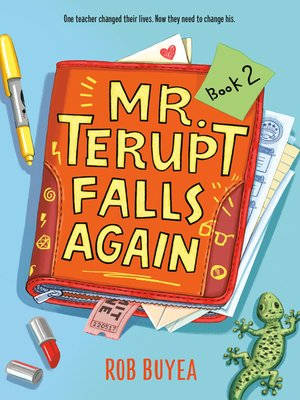 cover image of Mr. Terupt Falls Again