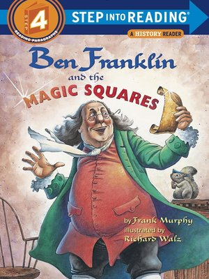 cover image of Ben Franklin and the Magic Squares