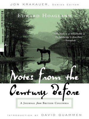 cover image of Notes from the Century Before