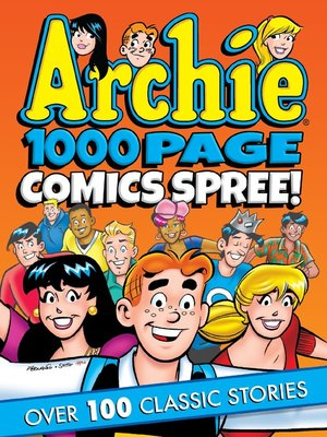 cover image of Archie 1000 Page Comics Spree