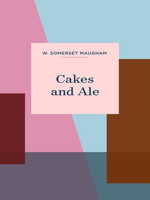 cover image of Cakes and Ale